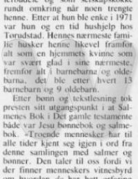 Aslaug Skogvang Minneord