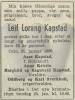 Leif Lorang Kapstad DA